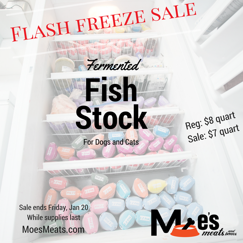 Flash freeze sale fermented fish stock moe 39 s meats for Flash frozen fish