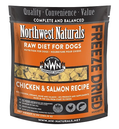 Chicken and salmon freeze dried nuggets northwest for Moe s fish and chicken
