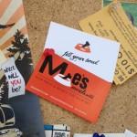 Cards on Alberta Street