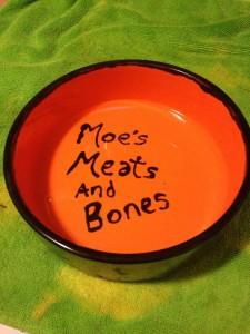 Moe's Meats Birthday Bowl