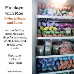 Mondays with Moe at Moe's Meats and Bones in Portland, Oregon