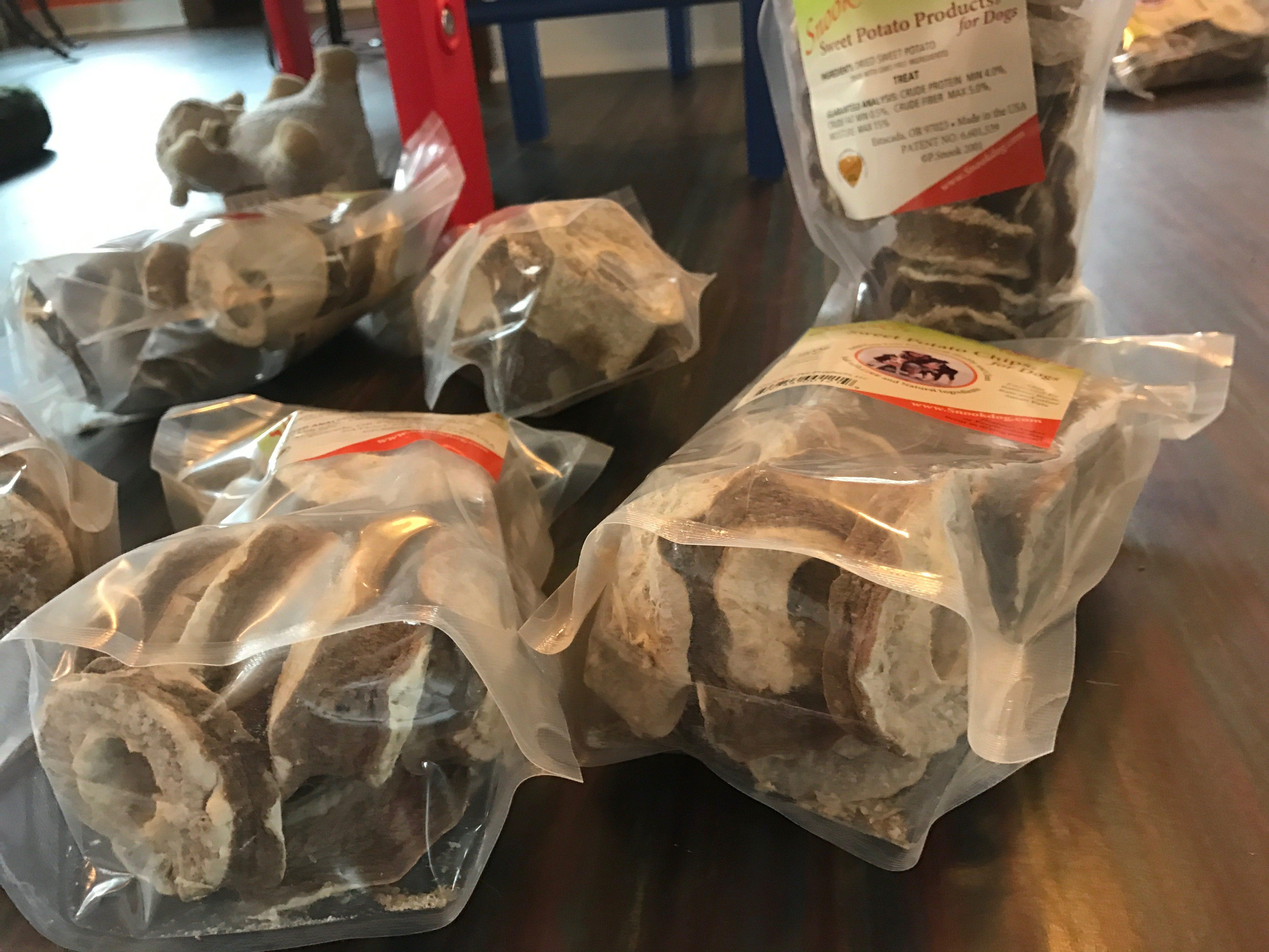 Dehydrated Sweet Potato Dog Treats
