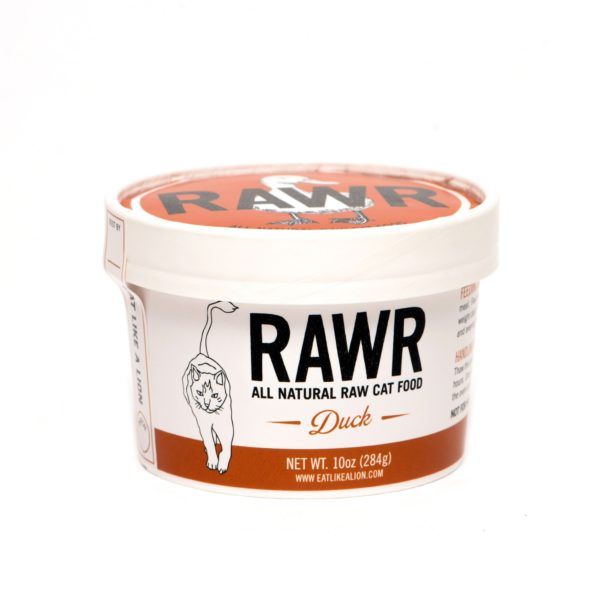 RAWR Cat Food, Duck, Size Options