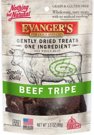 Evanger's Beef Tripe Treats, 3.5 Ounces