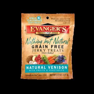 Evanger's Venison Treats, 4.5 Ounces