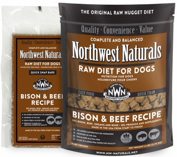 Northwest Naturals, Bison and Beef Options