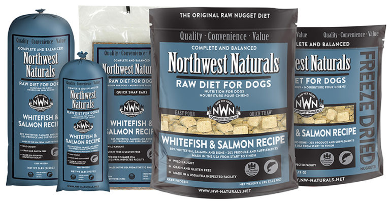 Northwest Naturals, Whitefish and Salmon Options