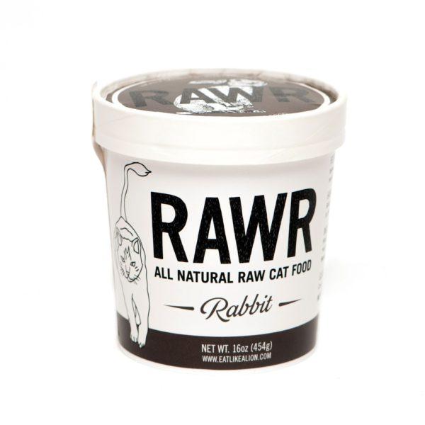 RAWR Cat Food, Rabbit, Size Options