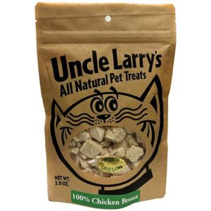 Uncle Larry's, Chicken Breast Treats for Dogs and Cats, 2 Ounces