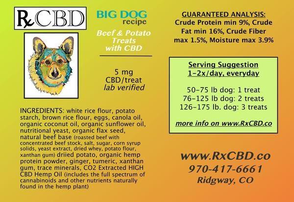 RxCBD, The Aegis Bargain Bundle of CBD Dog Treats and CBD Dog Extract for Medium - Large Dogs