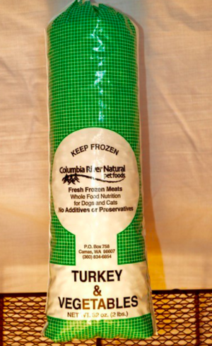 Columbia River Naturals, Turkey and Mixed Vegetables, 2-Pounds