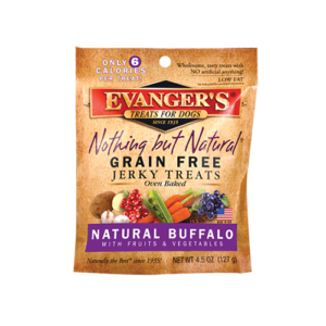 Evanger's Buffalo Treats, 4.5 Ounces