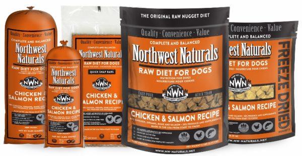 Northwest Naturals, Chicken and Salmon Options