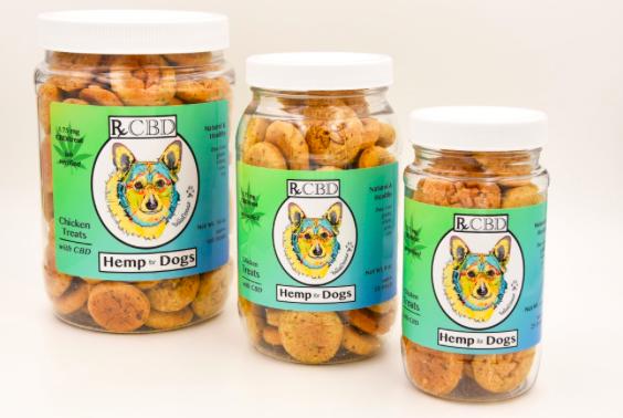 RxCBD, CBD Dog Chicken Treats for Small to Medium Dogs, 1.75mg