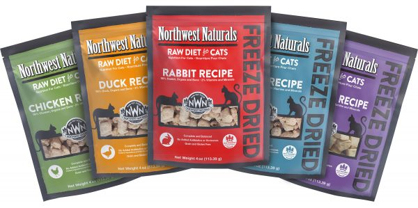 Northwest Naturals Freeze Dried Cat Nibbles