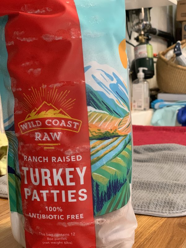 Wild Coast Raw Turkey Patties