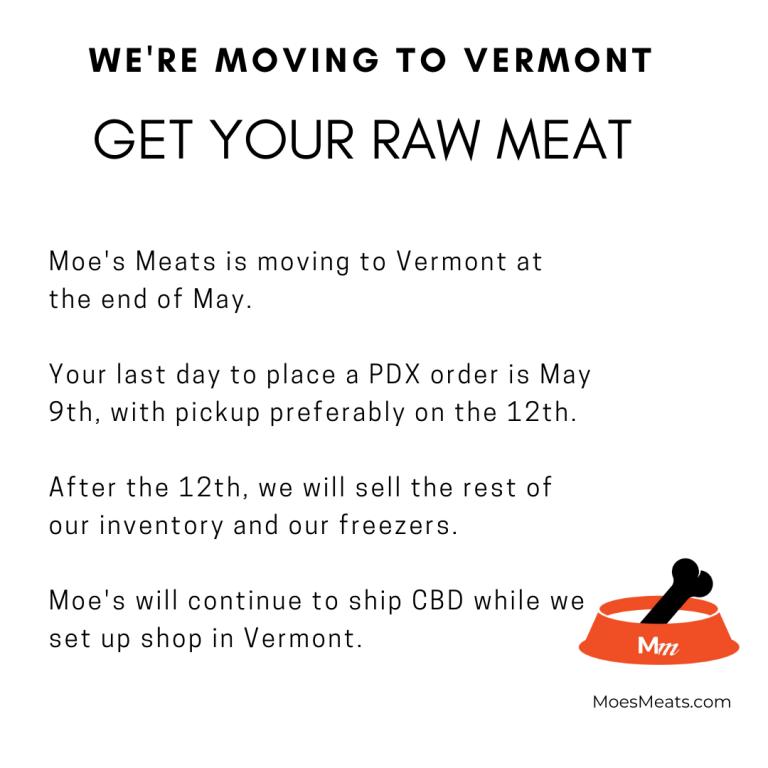 Vermont Pet Food
